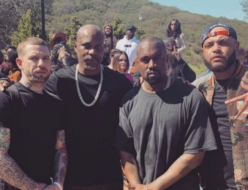 DMX Leads Prayer At Kanye West's Sunday Service